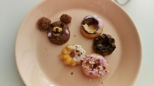 知育菓子ポッピンクッキンドーナツを作ってみた 完成