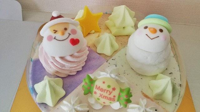 サーティーワンアイスのクリスマスアイスケーキ2019のクリスマスパレットを購入