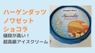 【ハーゲンダッツ】ノワゼットショコラは値段やカロリーは?高いけど高級感半端ない!