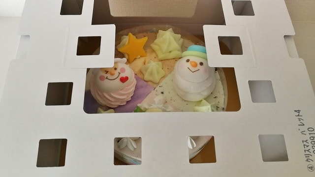 サーティワン2019クリスマスパレットの外箱