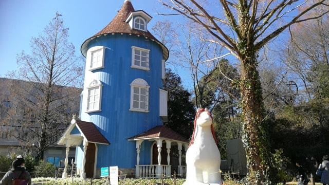 ムーミンバレーパークのムーミンの家