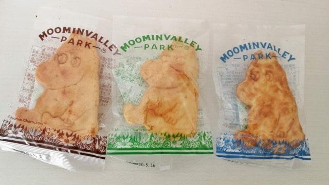 ムーミンバレーパークのお土産お菓子のおせんべい