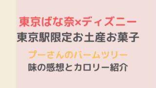 東京駅限定プーさんのバームツリー