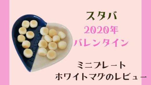 【スタバ】バレンタイン2020のミニプレートセットの購入レビュー!マグカップも!