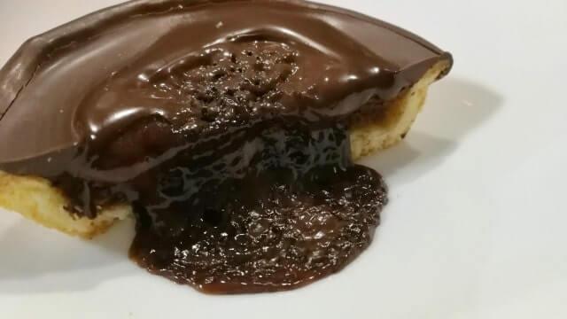 濃厚チョコタルトをレンジでチンした
