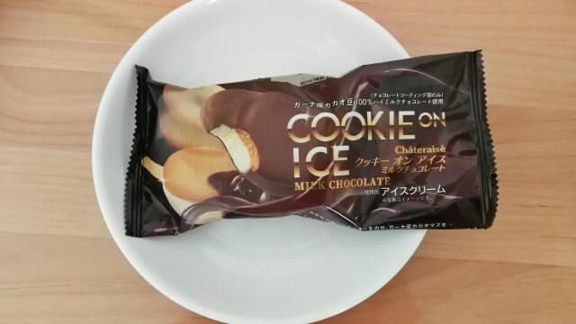 シャトレーゼクッキーんアイスミルクチョコレートの口コミと感想