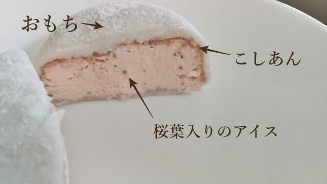カルディの桜もちアイスの感想