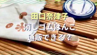 田口奈津子の消しゴムはんこは通販できる?スタンプインクと書籍も紹介