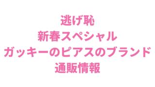 逃げ恥新春スペシャル新垣結衣のいいねピアスのブランドは?