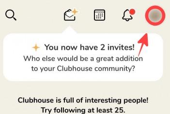 Clubhouseでプロフィールを変更する方