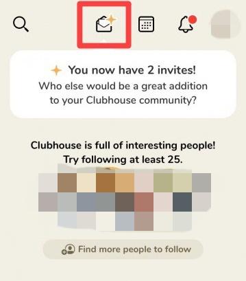 Clubhouseの招待方法