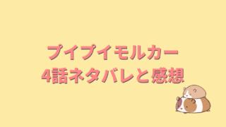 プイプイモルカ―4話のネタバレ考察と感想!運転手キャスト俳優は高橋博海