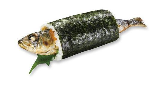 くら寿司の恵方巻きイワシ巻