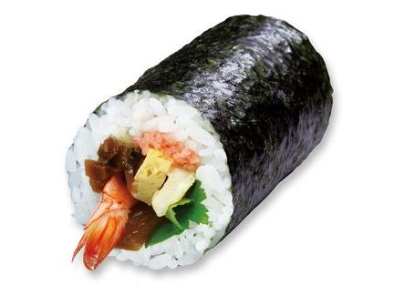 くら寿司の恵方巻き七福巻