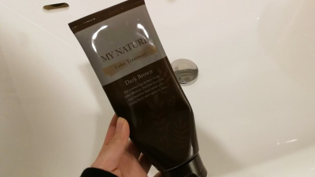 マイナチュレを乾いた髪に使う