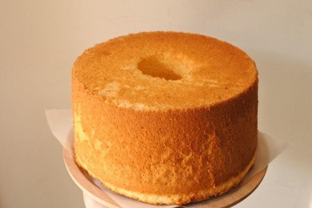 シフォンケーキを失敗しないコツ