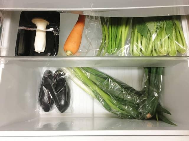 コンビニおにぎりの保存は野菜室がおすすめ