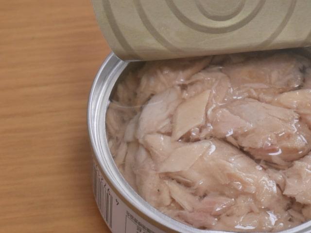ツナ缶の油