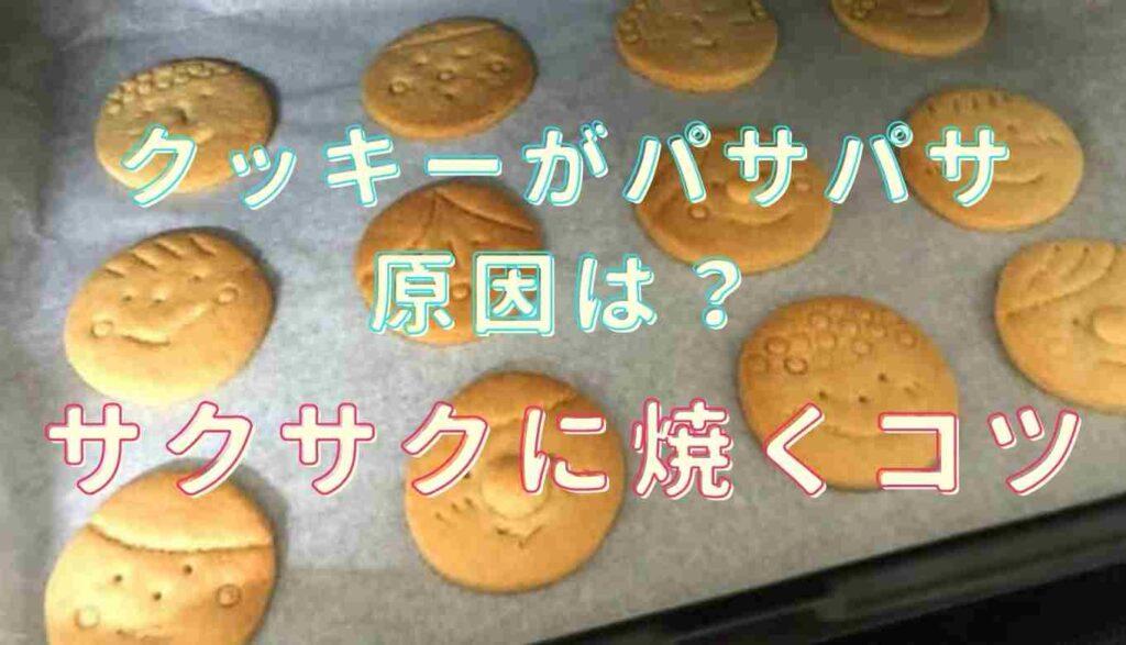 クッキーがパサパサに焼き上がる!サクサクに焼くコツを紹介!