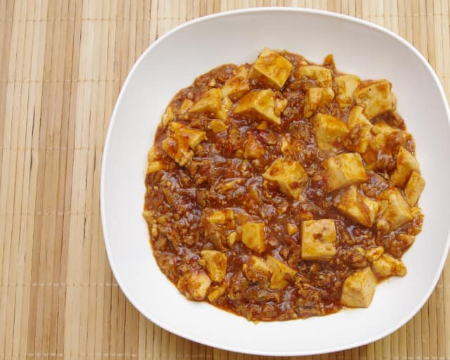 焼き肉のタレを麻婆豆腐に活用