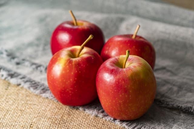 りんごのぬるぬるは農薬じゃない