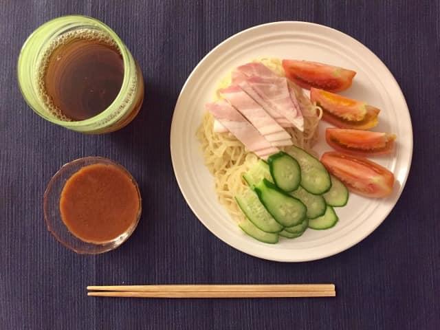 冷やし中華を子供が食べるときはタレは手作り