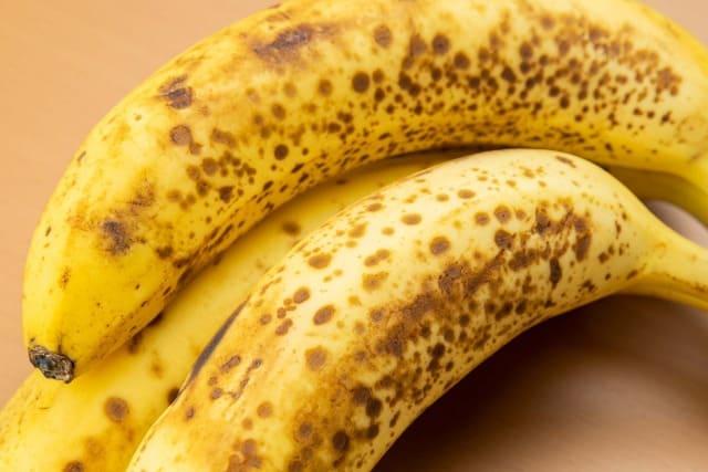 バナナを黒くさせない